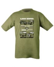 Land Rovers T-shirt - Olive Green